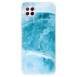 Odolné silikonové pouzdro iSaprio - Blue Marble - na mobil Huawei P40 Lite