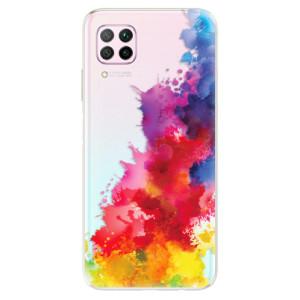 Odolné silikonové pouzdro iSaprio - Color Splash 01 - na mobil Huawei P40 Lite