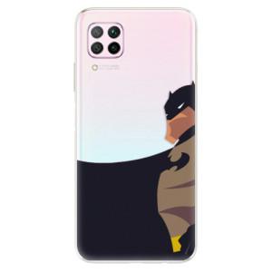 Odolné silikonové pouzdro iSaprio - BaT Comics - na mobil Huawei P40 Lite