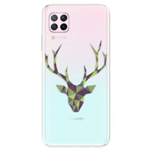 Odolné silikonové pouzdro iSaprio - Deer Green - na mobil Huawei P40 Lite