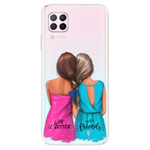 Odolné silikonové pouzdro iSaprio - Best Friends - na mobil Huawei P40 Lite