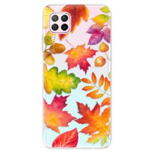 Odolné silikonové pouzdro iSaprio - Autumn Leaves 01 - na mobil Huawei P40 Lite