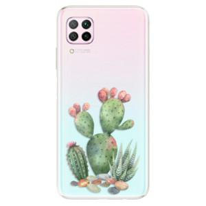 Odolné silikonové pouzdro iSaprio - Cacti 01 - na mobil Huawei P40 Lite
