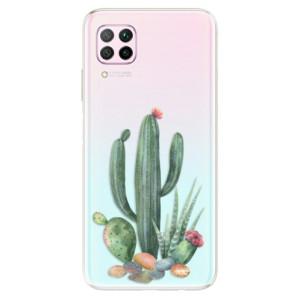 Odolné silikonové pouzdro iSaprio - Cacti 02 - na mobil Huawei P40 Lite