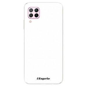 Odolné silikonové pouzdro iSaprio - 4Pure - bílé - na mobil Huawei P40 Lite