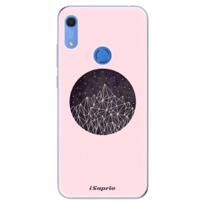 Odolné silikonové pouzdro iSaprio - Digital Mountains 10 - na mobil Huawei Y6s