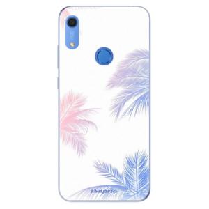 Odolné silikonové pouzdro iSaprio - Digital Palms 10 - na mobil Huawei Y6s