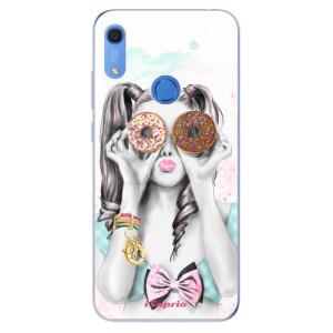 Odolné silikonové pouzdro iSaprio - Donuts 10 - na mobil Huawei Y6s