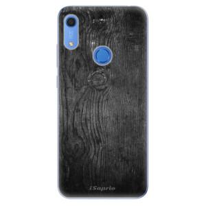 Odolné silikonové pouzdro iSaprio - Black Wood 13 - na mobil Huawei Y6s