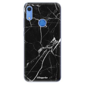 Odolné silikonové pouzdro iSaprio - Black Marble 18 - na mobil Huawei Y6s