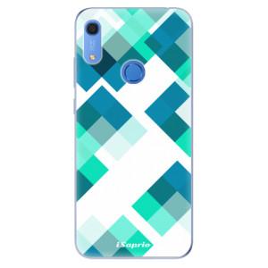 Odolné silikonové pouzdro iSaprio - Abstract Squares 11 - na mobil Huawei Y6s