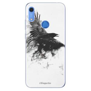 Odolné silikonové pouzdro iSaprio - Dark Bird 01 - na mobil Huawei Y6s