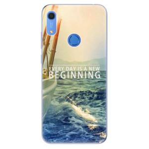 Odolné silikonové pouzdro iSaprio - Beginning - na mobil Huawei Y6s