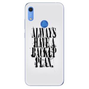 Odolné silikonové pouzdro iSaprio - Backup Plan - na mobil Huawei Y6s