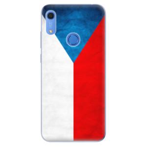 Odolné silikonové pouzdro iSaprio - Czech Flag - na mobil Huawei Y6s