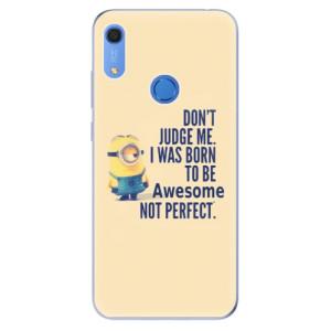 Odolné silikonové pouzdro iSaprio - Be Awesome - na mobil Huawei Y6s