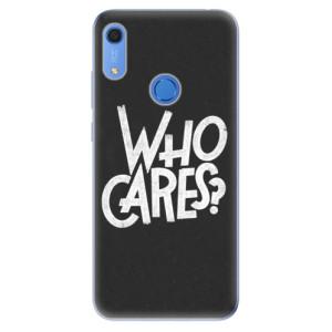 Odolné silikonové pouzdro iSaprio - Who Cares - na mobil Huawei Y6s