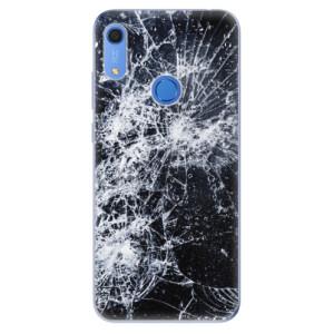 Odolné silikonové pouzdro iSaprio - Cracked - na mobil Huawei Y6s