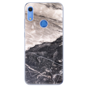 Odolné silikonové pouzdro iSaprio - BW Marble - na mobil Huawei Y6s