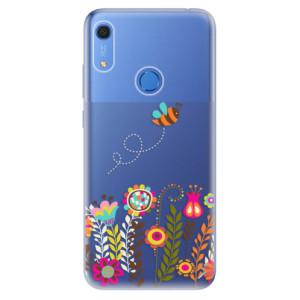 Odolné silikonové pouzdro iSaprio - Bee 01 - na mobil Huawei Y6s