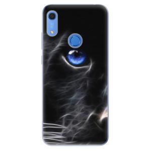 Odolné silikonové pouzdro iSaprio - Black Puma - na mobil Huawei Y6s