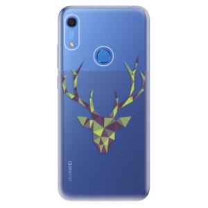 Odolné silikonové pouzdro iSaprio - Deer Green - na mobil Huawei Y6s
