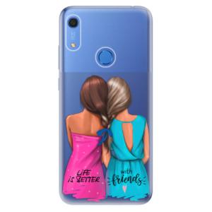 Odolné silikonové pouzdro iSaprio - Best Friends - na mobil Huawei Y6s