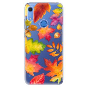 Odolné silikonové pouzdro iSaprio - Autumn Leaves 01 - na mobil Huawei Y6s