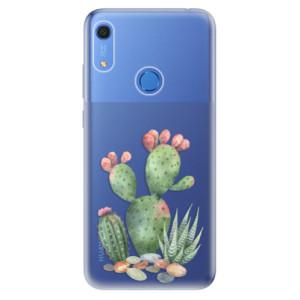 Odolné silikonové pouzdro iSaprio - Cacti 01 - na mobil Huawei Y6s