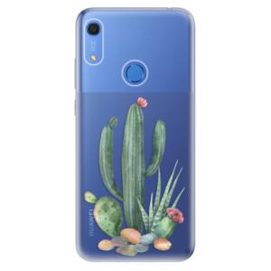Odolné silikonové pouzdro iSaprio - Cacti 02 - na mobil Huawei Y6s