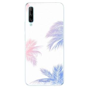 Odolné silikonové pouzdro iSaprio - Digital Palms 10 - na mobil Huawei P Smart Pro