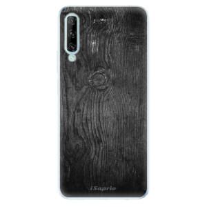 Odolné silikonové pouzdro iSaprio - Black Wood 13 - na mobil Huawei P Smart Pro