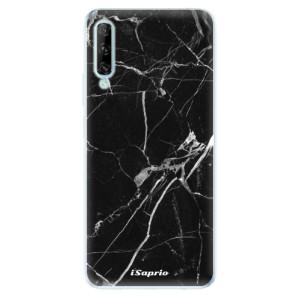Odolné silikonové pouzdro iSaprio - Black Marble 18 - na mobil Huawei P Smart Pro