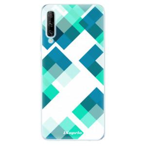 Odolné silikonové pouzdro iSaprio - Abstract Squares 11 - na mobil Huawei P Smart Pro