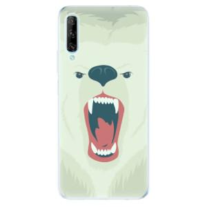 Odolné silikonové pouzdro iSaprio - Angry Bear - na mobil Huawei P Smart Pro