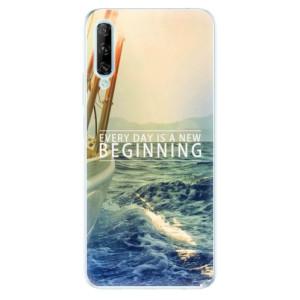 Odolné silikonové pouzdro iSaprio - Beginning - na mobil Huawei P Smart Pro