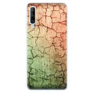 Odolné silikonové pouzdro iSaprio - Cracked Wall 01 - na mobil Huawei P Smart Pro