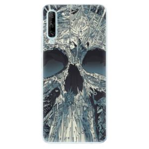 Odolné silikonové pouzdro iSaprio - Abstract Skull - na mobil Huawei P Smart Pro