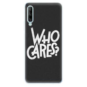 Odolné silikonové pouzdro iSaprio - Who Cares - na mobil Huawei P Smart Pro