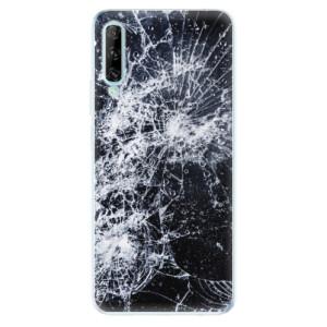 Odolné silikonové pouzdro iSaprio - Cracked - na mobil Huawei P Smart Pro