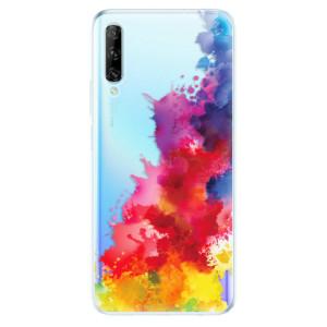 Odolné silikonové pouzdro iSaprio - Color Splash 01 - na mobil Huawei P Smart Pro