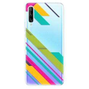 Odolné silikonové pouzdro iSaprio - Color Stripes 03 - na mobil Huawei P Smart Pro
