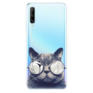 Odolné silikonové pouzdro iSaprio - Crazy Cat 01 - na mobil Huawei P Smart Pro