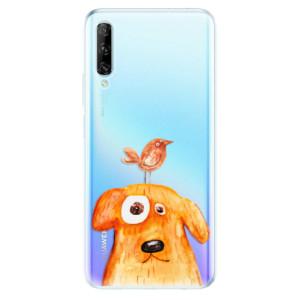 Odolné silikonové pouzdro iSaprio - Dog And Bird - na mobil Huawei P Smart Pro