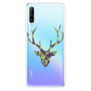 Odolné silikonové pouzdro iSaprio - Deer Green - na mobil Huawei P Smart Pro