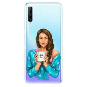 Odolné silikonové pouzdro iSaprio - Coffe Now - Brunette - na mobil Huawei P Smart Pro
