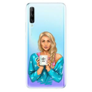 Odolné silikonové pouzdro iSaprio - Coffe Now - Blond - na mobil Huawei P Smart Pro