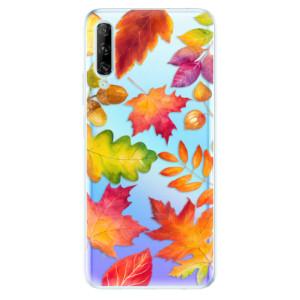 Odolné silikonové pouzdro iSaprio - Autumn Leaves 01 - na mobil Huawei P Smart Pro