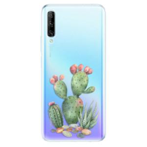 Odolné silikonové pouzdro iSaprio - Cacti 01 - na mobil Huawei P Smart Pro