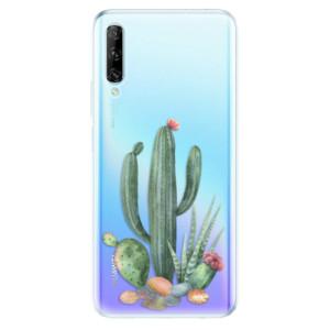 Odolné silikonové pouzdro iSaprio - Cacti 02 - na mobil Huawei P Smart Pro